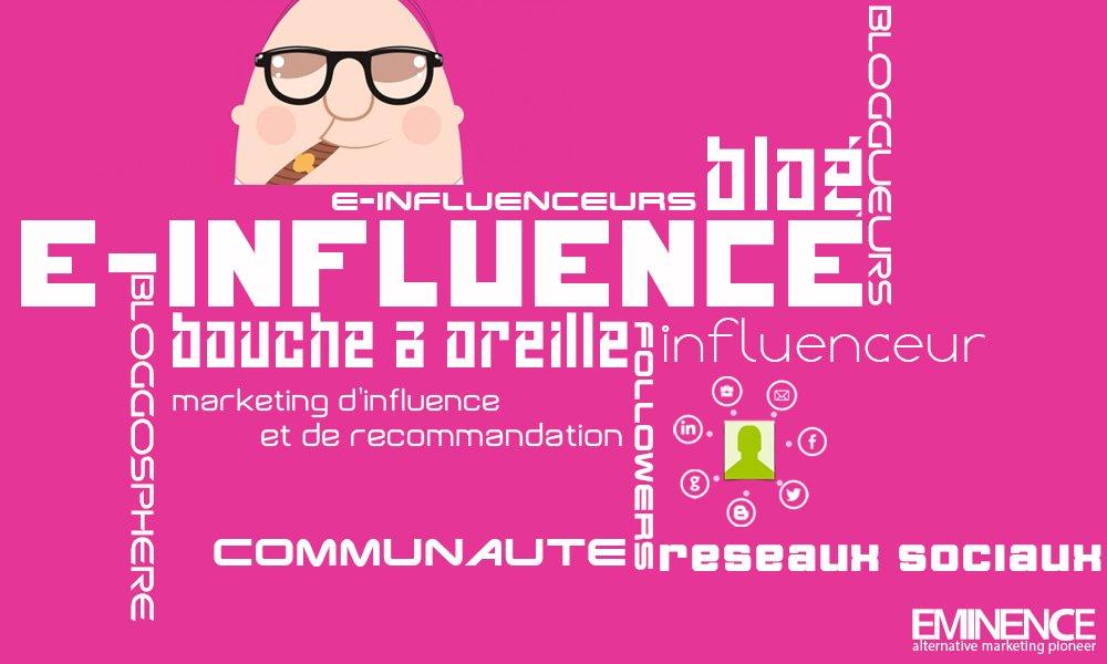 L'e-influence, son importance aujourd'hui