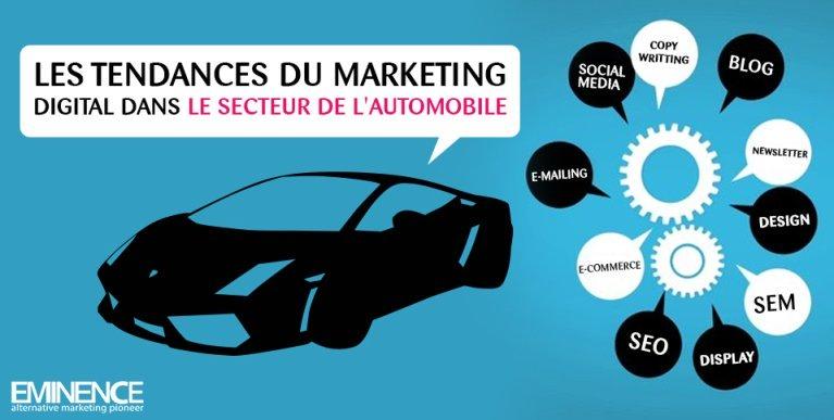 les tendances du marketing digital dans le secteur de l'automobile