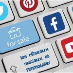 les réseaux sociaux et l'immobilier