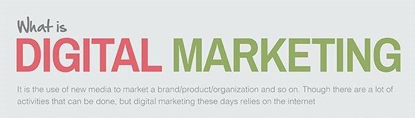 A découvrir : le marketing digital en image !