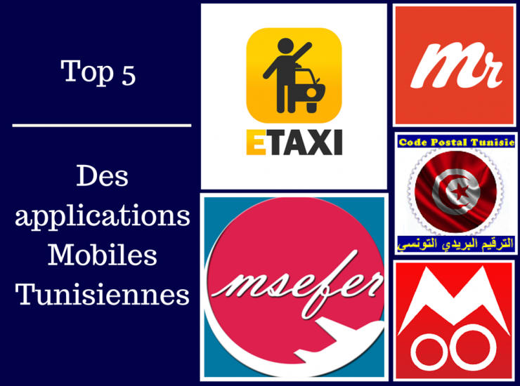 Le top 5 des applications tunisiennes qui faciliteront votre quotidien !