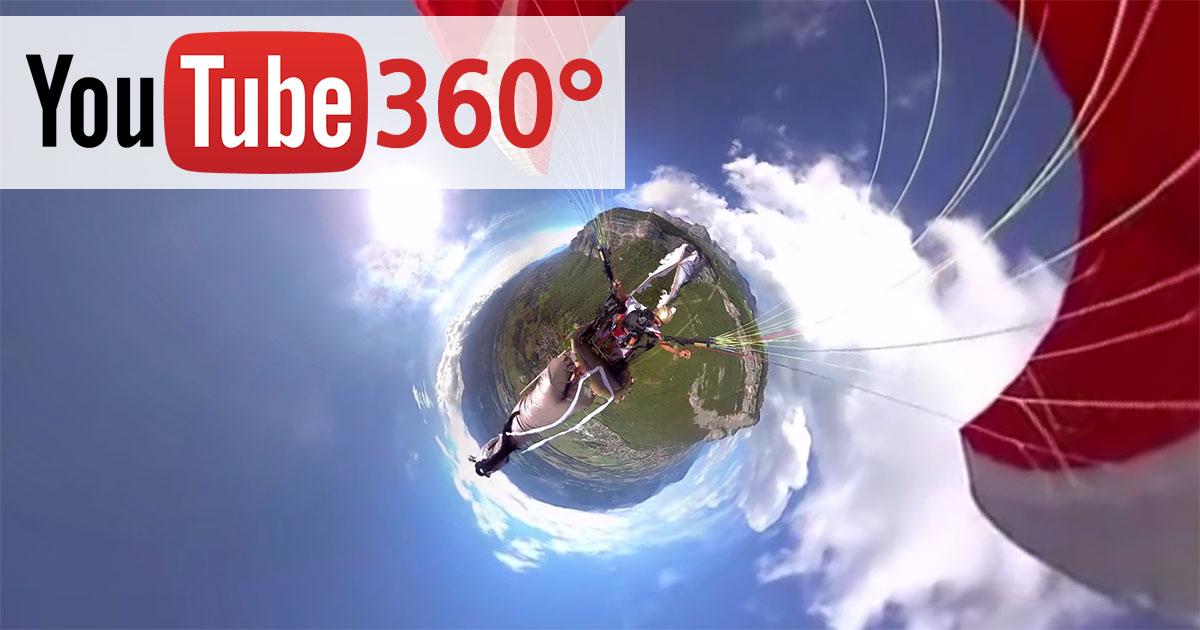 Youtube : Lancement des vidéos en live à 360°