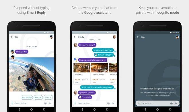 Google lance une nouvelle messagerie intelligente