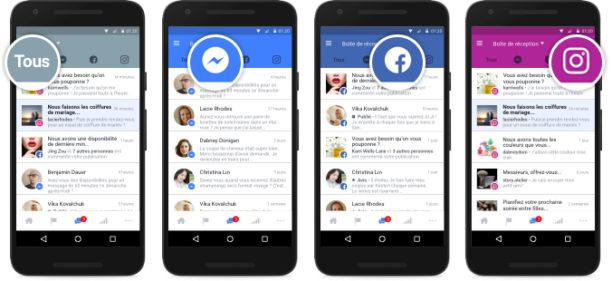 Une nouvelle interface de gestion des commentaires et messages de Facebook, Messenger et Instagram