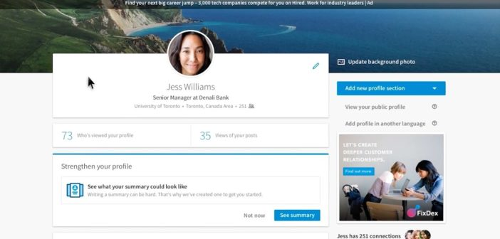 LinkedIn change de look