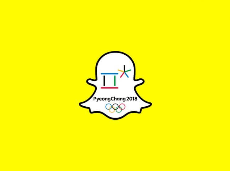 Partenariat entre Snapchat et Eurosport : La diffusion des Jeux Olympiques d'hiver de 2018