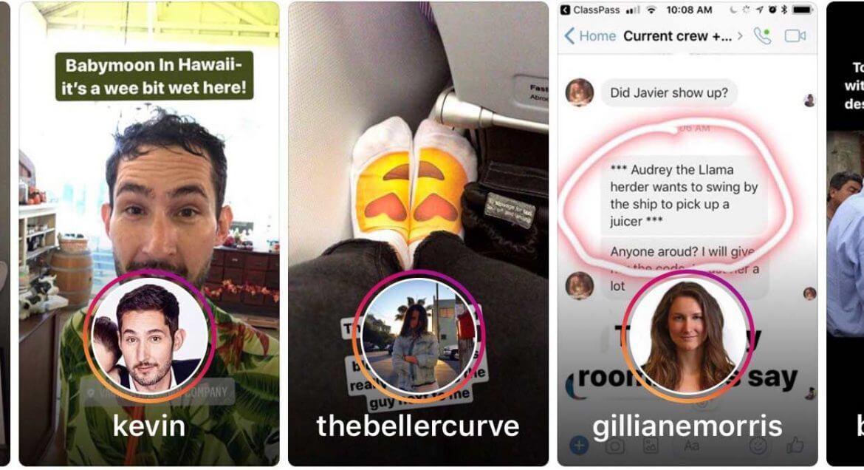 Des « instagram stories » en veux-tu en voilà !